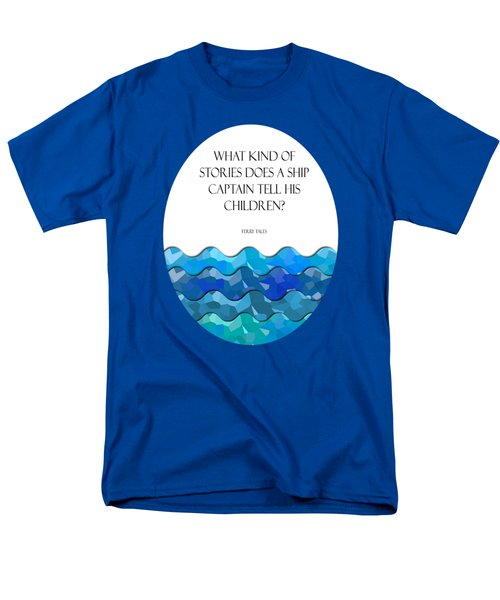 Maritime Humor For A Nursery Room Men's T-Shirt  (Regular Fit) by Liesl Marelli