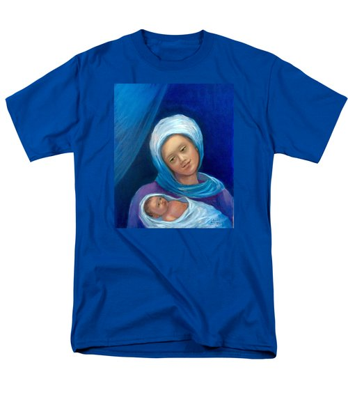 Merry Christmas Men's T-Shirt  (Regular Fit) by Laila Awad Jamaleldin