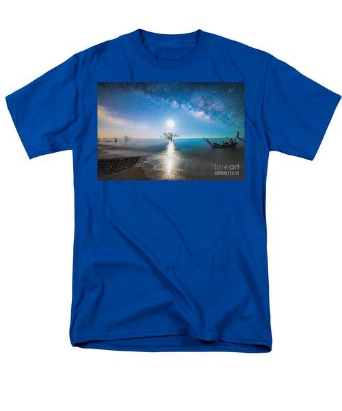 Milky Way Shore Men's T-Shirt  (Regular Fit) by Robert Loe