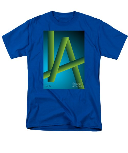 Men's T-Shirt  (Regular Fit) featuring the digital art Modus by Leo Symon
