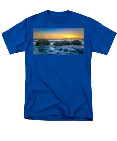 Moeraki Sunrise Men's T-Shirt  (Regular Fit) by Martin Capek