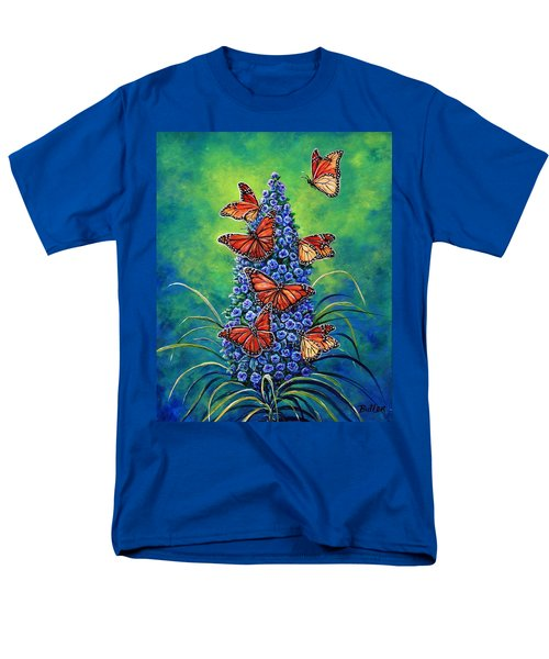 Monarch Waystation Men's T-Shirt  (Regular Fit) by Gail Butler
