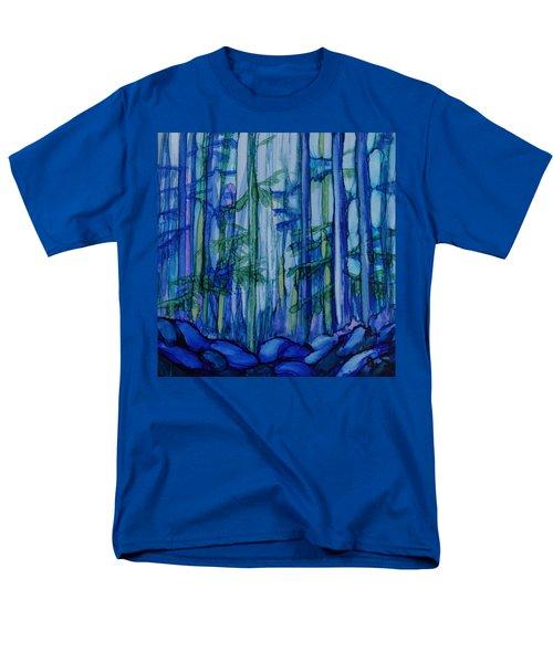 Moonlit Forest Men's T-Shirt  (Regular Fit) by Joanne Smoley