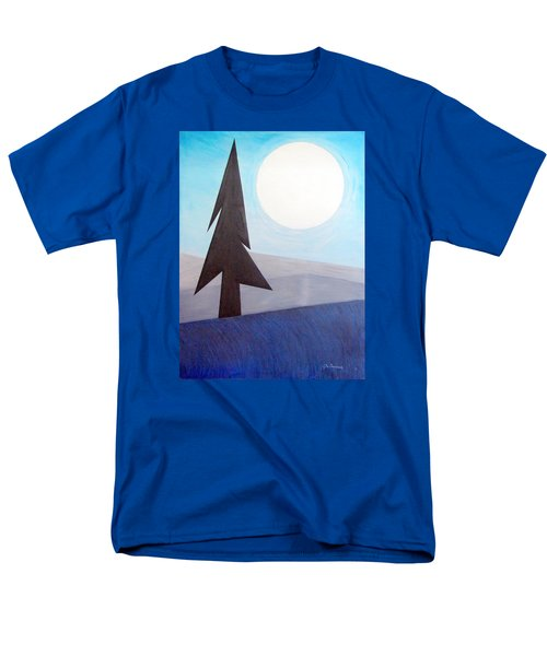 Moon Rings Men's T-Shirt  (Regular Fit) by J R Seymour