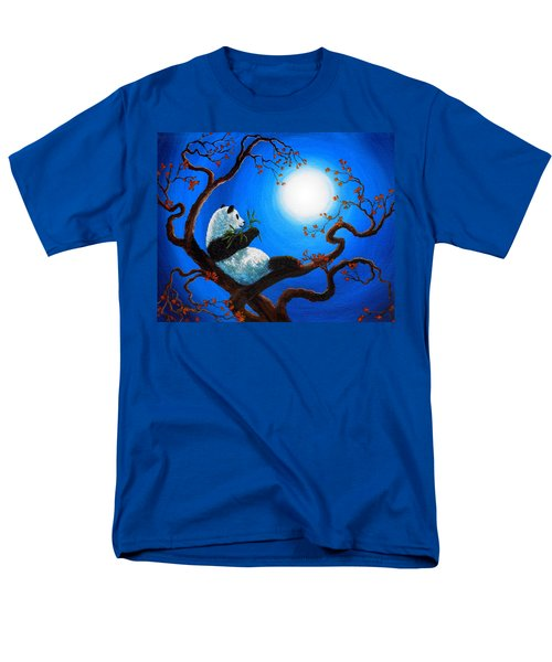 Moonlit Snack Men's T-Shirt  (Regular Fit) by Laura Iverson