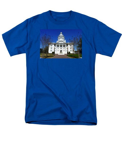 Moultrie Courthouse Men's T-Shirt  (Regular Fit) by Carla Parris