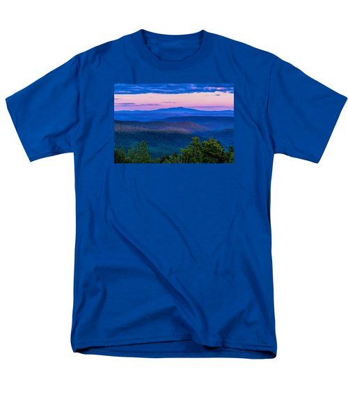 Men's T-Shirt  (Regular Fit) featuring the photograph Mount Monadnock From Vermont by Tom Singleton