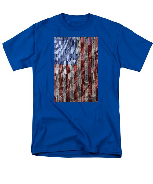 Men's T-Shirt  (Regular Fit) featuring the photograph Never Forget American Sacrifice by DJ Florek