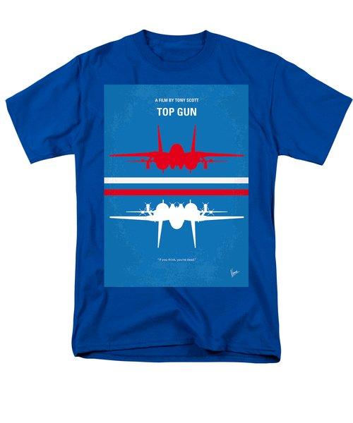 No128 My Top Gun Minimal Movie Poster Men's T-Shirt  (Regular Fit)
