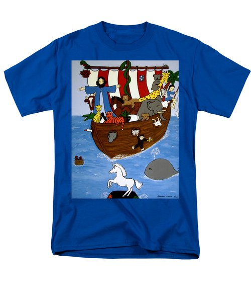 Men's T-Shirt  (Regular Fit) featuring the painting Noah's Ark by Stephanie Moore
