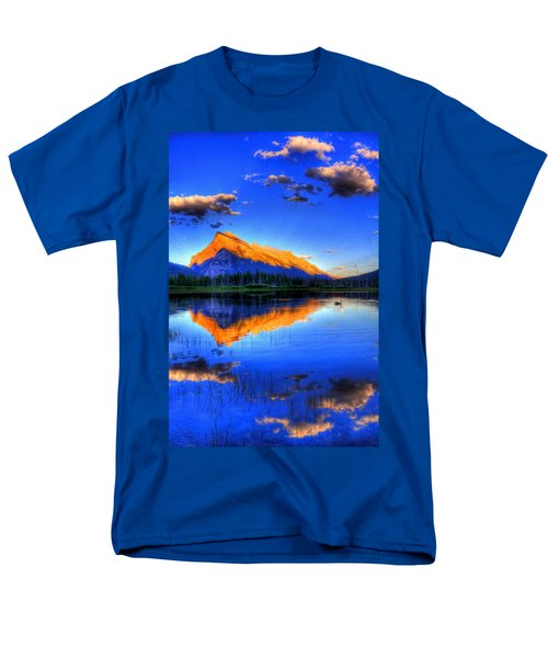 Men's T-Shirt  (Regular Fit) featuring the photograph Of Geese And Gods by Scott Mahon