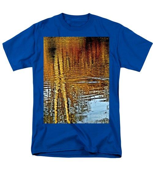 On Golden Pond Men's T-Shirt  (Regular Fit) by Carol F Austin