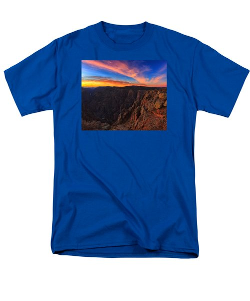 On The Edge Men's T-Shirt  (Regular Fit) by Rick Furmanek