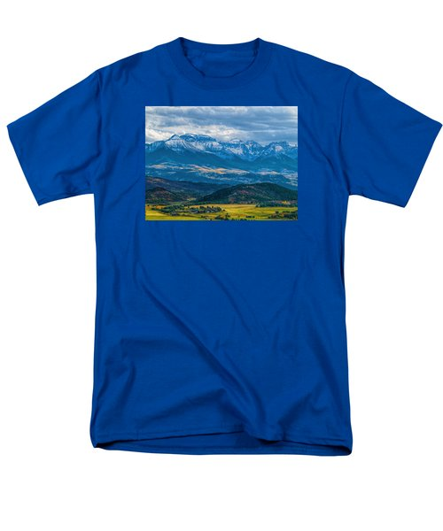 Outside Of Ridgway Men's T-Shirt  (Regular Fit) by Alana Thrower