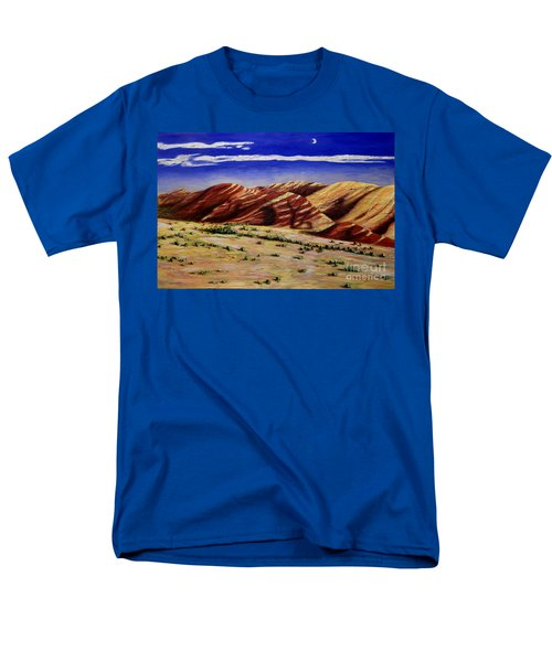 Painted Hills Men's T-Shirt  (Regular Fit) by Lisa Rose Musselwhite