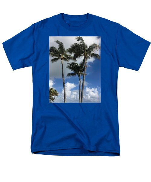 Men's T-Shirt  (Regular Fit) featuring the photograph Palm by Arlene Carmel