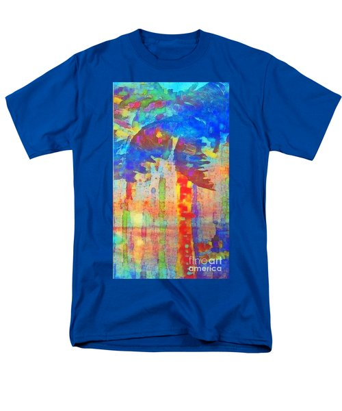 Palm Party Men's T-Shirt  (Regular Fit) by Holly Martinson