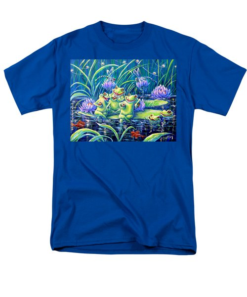 Party At The Pad Men's T-Shirt  (Regular Fit) by Gail Butler