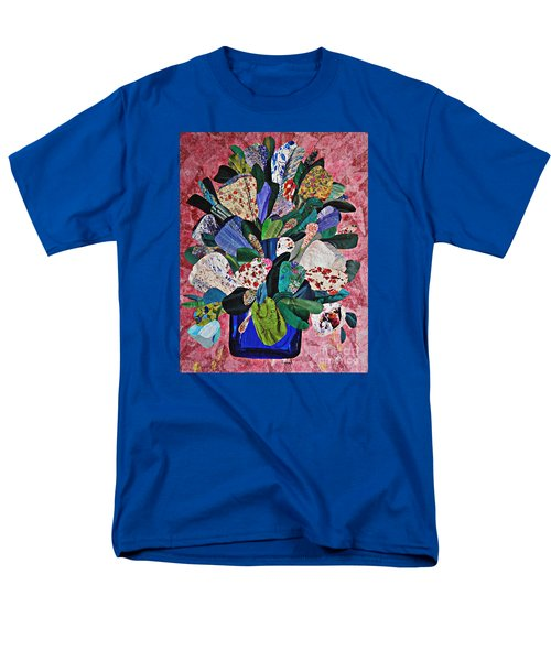 Patchwork Bouquet Men's T-Shirt  (Regular Fit) by Sarah Loft