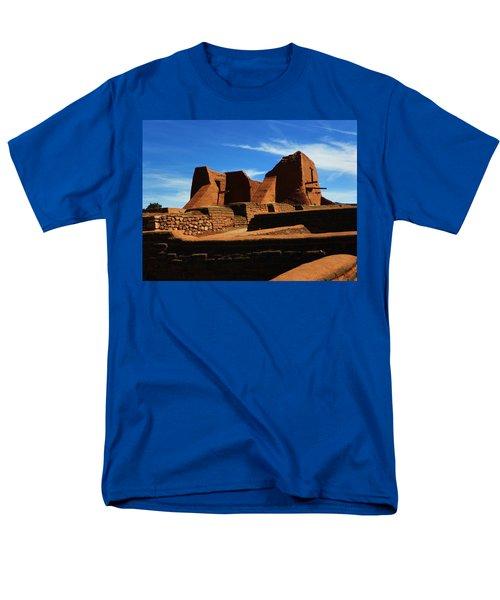 Men's T-Shirt  (Regular Fit) featuring the photograph Pecos New Mexico by Joseph Frank Baraba