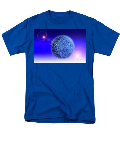 Planet Men's T-Shirt  (Regular Fit) by Tatsuya Atarashi
