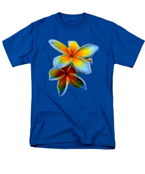 Plumerias Men's T-Shirt  (Regular Fit) by Pamela Walton
