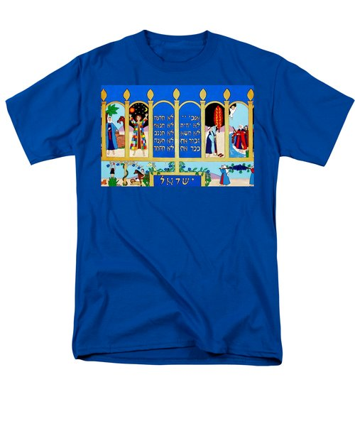 Men's T-Shirt  (Regular Fit) featuring the painting Promised Land by Stephanie Moore