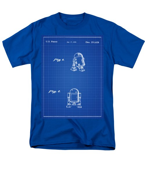Men's T-Shirt  (Regular Fit) featuring the photograph R2d2 Patent 1979 by Bill Cannon
