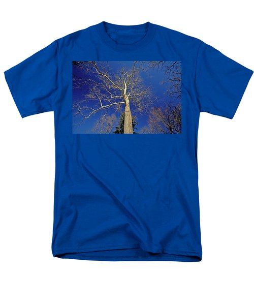 Men's T-Shirt  (Regular Fit) featuring the photograph Reaching For The Sky by Suzanne Stout