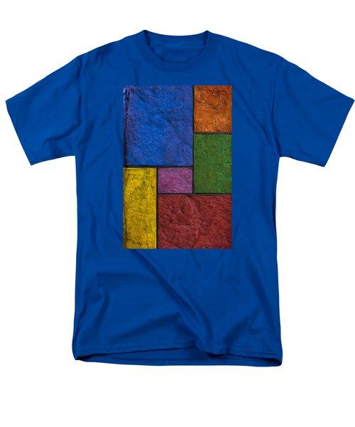 Rectangles Men's T-Shirt  (Regular Fit) by Don Gradner