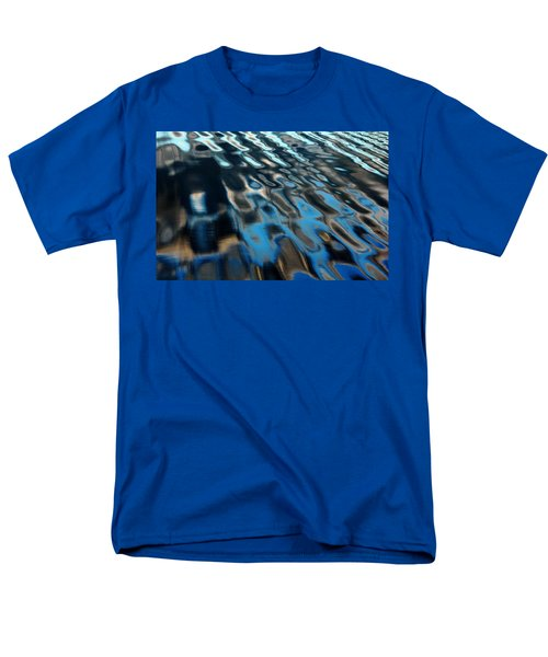 Men's T-Shirt  (Regular Fit) featuring the photograph Reflections From A Dock by Debbie Oppermann