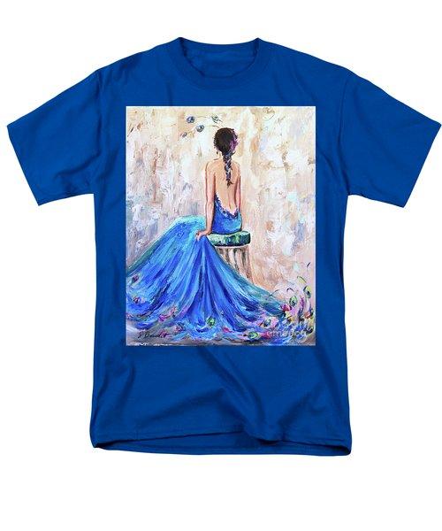 Rhapsody In Blue Men's T-Shirt  (Regular Fit) by Jennifer Beaudet