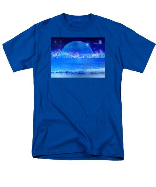 Men's T-Shirt  (Regular Fit) featuring the digital art Rise by Bernd Hau
