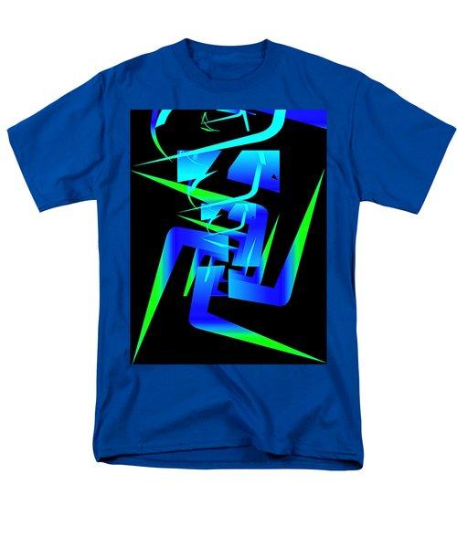 Running Man Men's T-Shirt  (Regular Fit) by Mario Carini