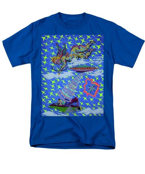 Saint Valentine  Love At 1st Sight Men's T-Shirt  (Regular Fit) by Robert SORENSEN