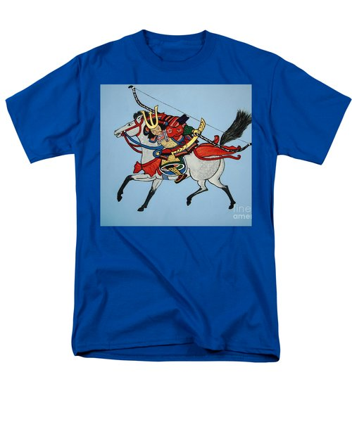 Men's T-Shirt  (Regular Fit) featuring the painting Samurai Rider by Stephanie Moore