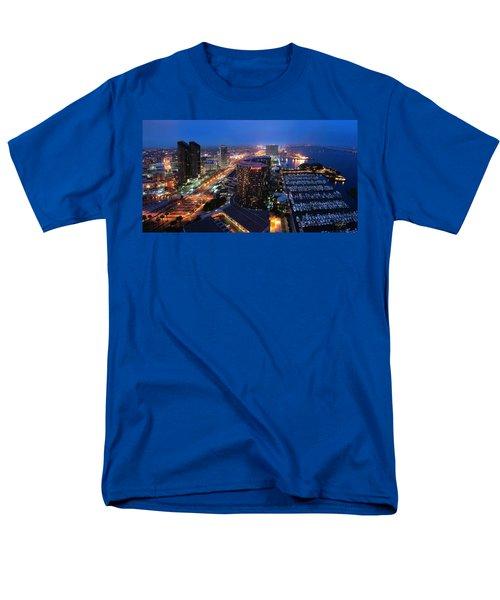 San Diego Bay Men's T-Shirt  (Regular Fit)