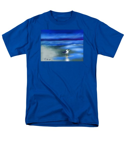 Seagull Standing 2 Men's T-Shirt  (Regular Fit) by Frank Bright