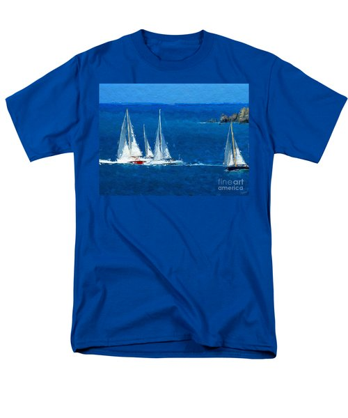 Set Sail Men's T-Shirt  (Regular Fit) by Anthony Fishburne