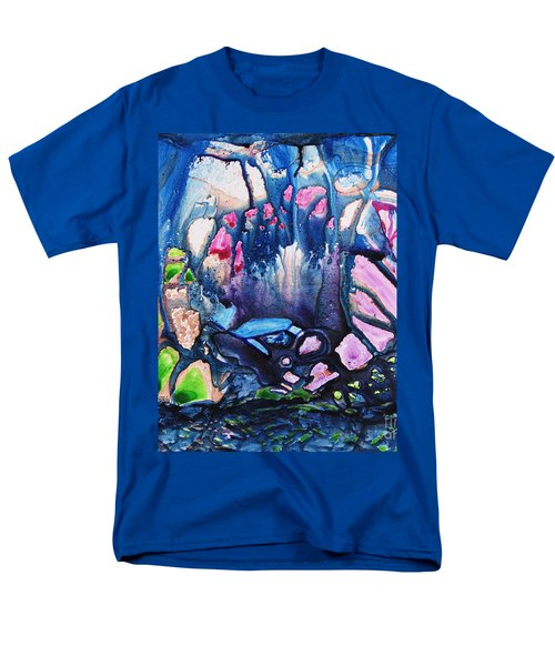 Shades Of Tiffany Men's T-Shirt  (Regular Fit) by Joan Hartenstein