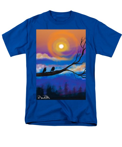 Sharing The Sunset-2 Men's T-Shirt  (Regular Fit) by Diana Riukas