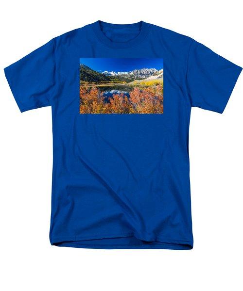 Sierra Foliage Men's T-Shirt  (Regular Fit) by Tassanee Angiolillo