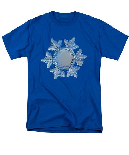Snowflake Photo - Sunflower Men's T-Shirt  (Regular Fit) by Alexey Kljatov