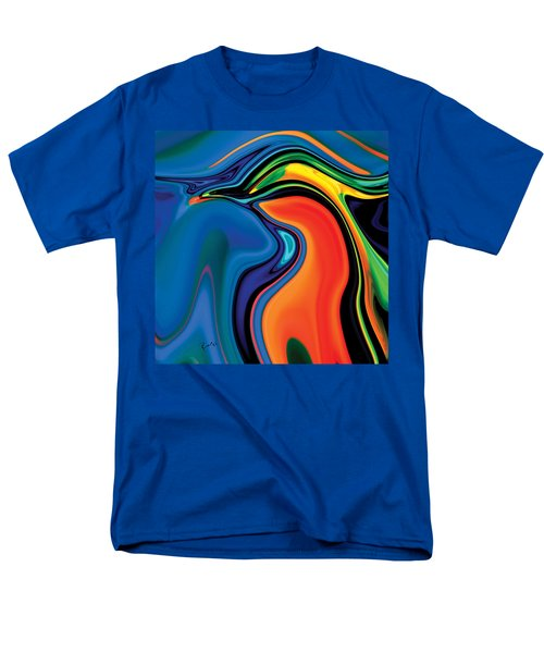 Men's T-Shirt  (Regular Fit) featuring the digital art Soul Bird 2 by Rabi Khan