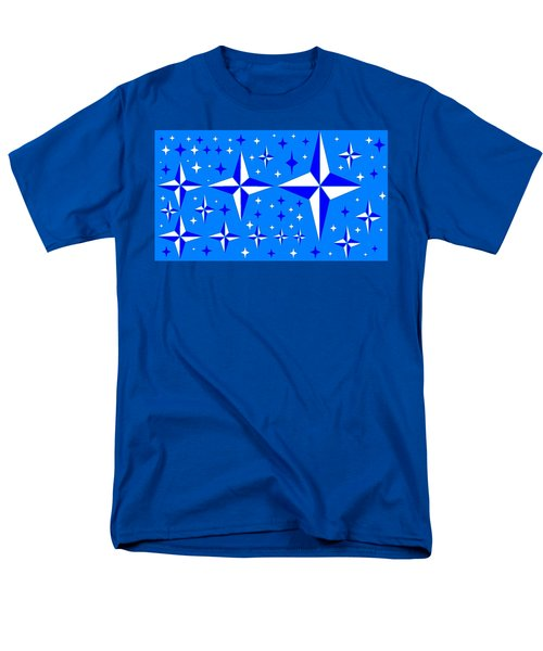 Starlight 9 Men's T-Shirt  (Regular Fit) by Linda Velasquez