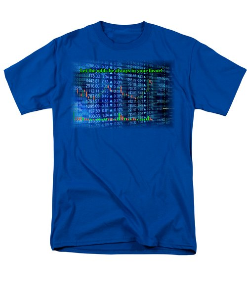 Stock Exchange Men's T-Shirt  (Regular Fit) by Anastasiya Malakhova