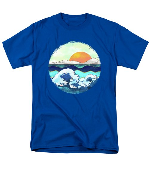 Stormy Waters Men's T-Shirt  (Regular Fit) by Spacefrog Designs