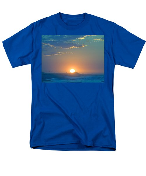 Men's T-Shirt  (Regular Fit) featuring the photograph Sunrise Sky by  Newwwman