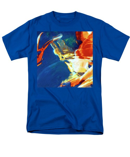 Men's T-Shirt  (Regular Fit) featuring the painting Sunspot by Dominic Piperata