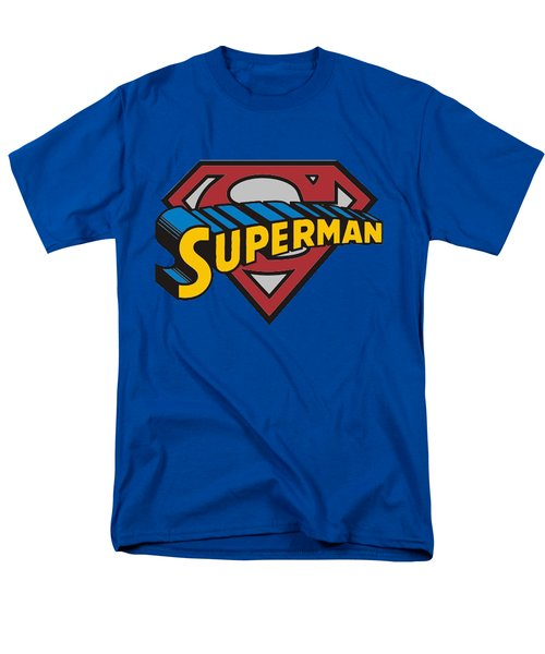 Superman T-shirt Men's T-Shirt  (Regular Fit) by Herb Strobino